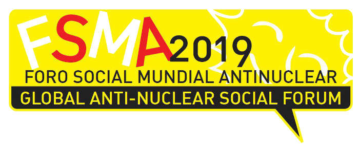 Foro Social Mundial Antinuclear 2019.