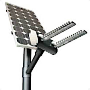 Solar streetlights 30W Philips SunLights