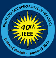 IEEE Photovoltaic Specialists Conference 2014.