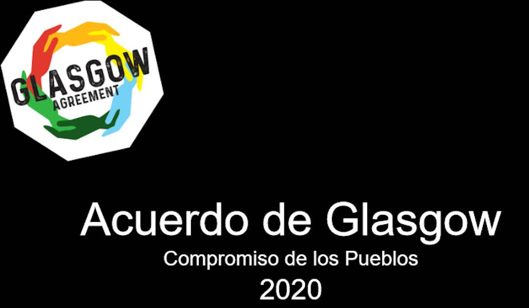 2020 Rebelión por el Clima se suma al Acuerdo de Glasgow