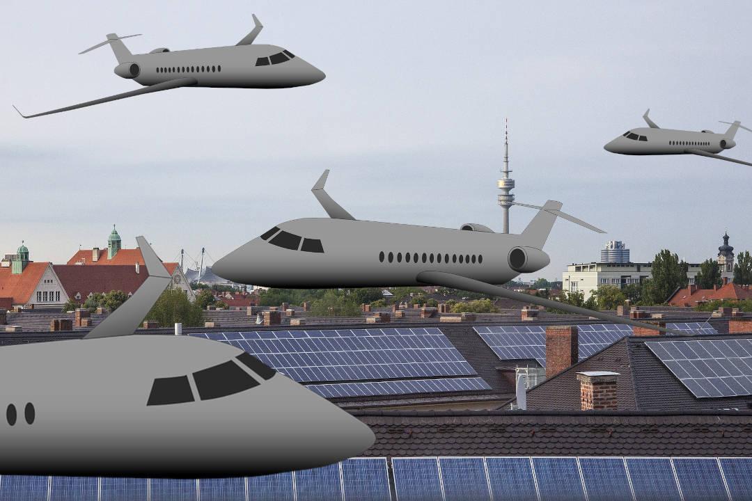 UNEF consigue que el autoconsumo sobre cubierta no requiera el informe aeronáutico.