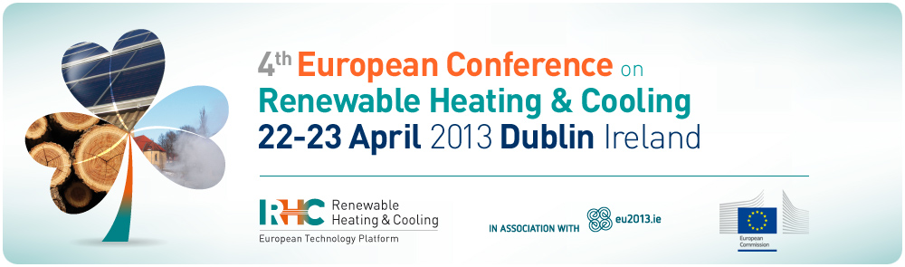 4ª European Conference on Renewable Heating and Cooling.