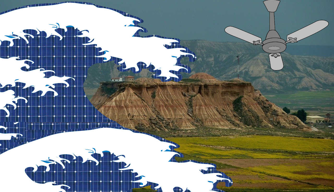 Navarra crea un protocolo para valorar qué superficies agrícolas son susceptibles o no de acoger parques de energías renovables