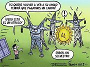 La fotovoltaica española paralizada frente a la apuesta mundial.