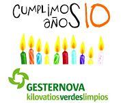 Gesternova, pionera en la comercialización de electricidad verde, cumple diez años.