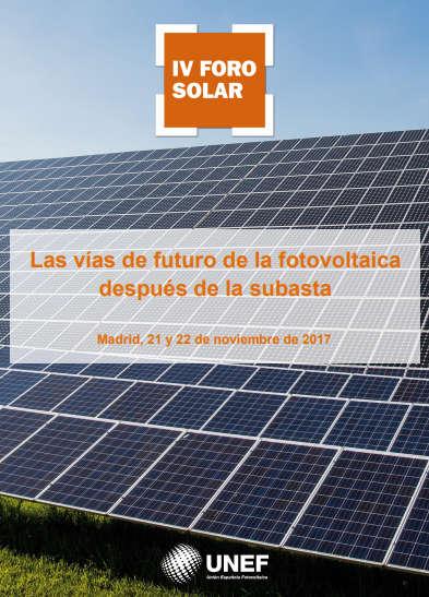 IV Foro Solar