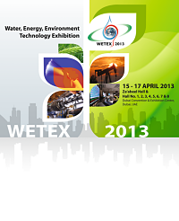 WETEX 2013 – International Trade Fair for Water, Energy, Technology and Environment.