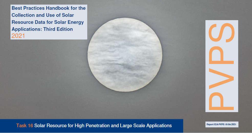 Manual de mejores prácticas sobre recopilación y uso de datos solares para aplicaciones de energía solar. III Edición.