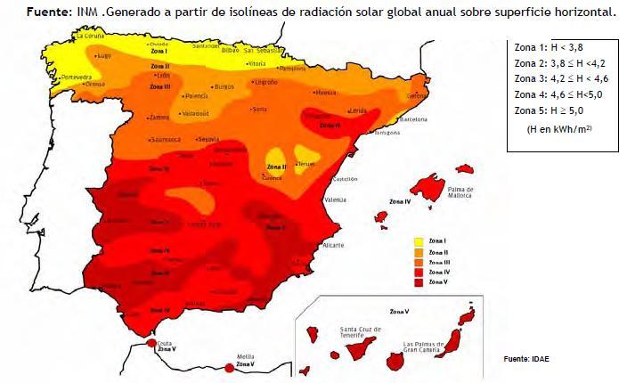 191 A Qu 233 Zona Corresponde Mi Planta Fotovoltaica A Efectos