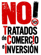 No a los tratados de Comercio e Inversión