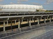 Energía solar fotovoltaica frente a la escasez de suministro para la Copa del Mundo 2014 en Brasil.