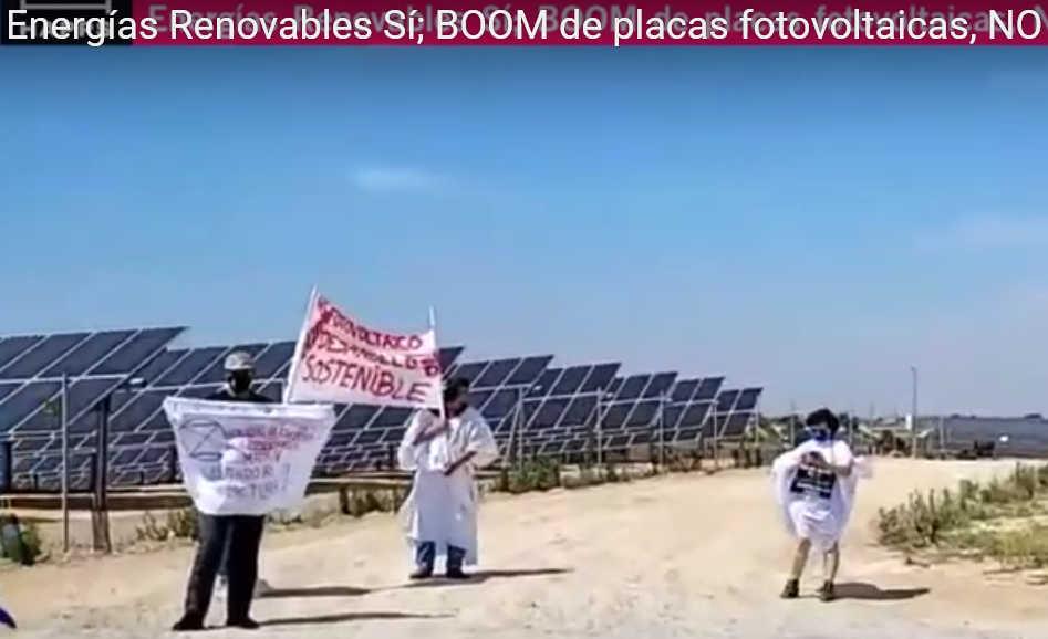 Energías Renovables Sí; BOOM de placas fotovoltaicas, NO