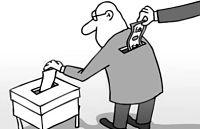 Las elecciones europeas y el ansiado voto hace bajar el precio de la Luz.