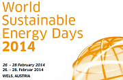 World Sustainable Energy Days 2014.